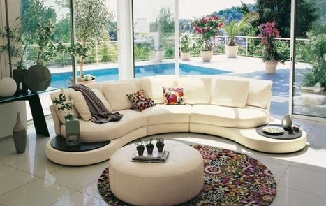 Living Room Inspiration: Over 50 Modern Sofas by Roche Bobois | DesignRulz | Designing Interiors | Scoop.it