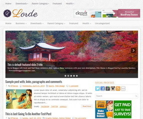 Lorde Blogger Template | Blogger Templates | Scoop.it