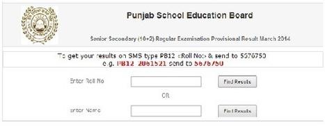 Punjab Board 12th Class Result 2014 Declared Merit List PSEB Toppers List - Exam Buzzer | Exam Buzzer | Scoop.it