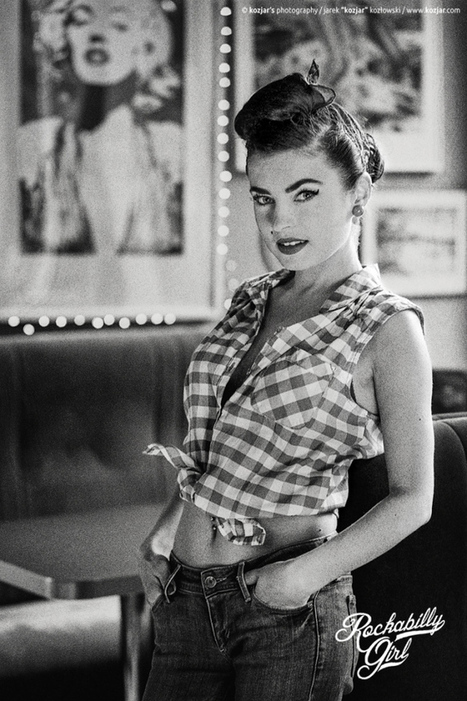 Rockabilly Girl by Photographer Jarek Kozlowski | Rockabilly | Scoop.it