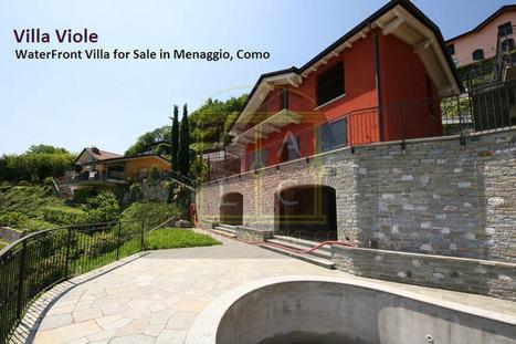 Villa Viole - Lake View Property for Sale in Menaggio, Como - Real Estate Services Lake Como | Real Estate Marketing | Scoop.it
