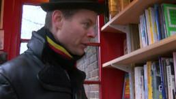 Britânico transforma cabine telefônica sem uso em 'microbiblioteca' | Linguagem Virtual | Scoop.it