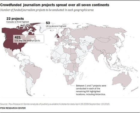 Crowdfunded Journalism: A Small but Growing Addition to Publicly Driven Journalism | #transmediascoop | Scoop.it