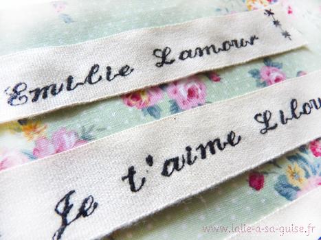 Un message brode sur mesure   L'amour et ses attentions   Scoop.it