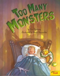 #4 Read Aloud: Too Many Monsters by Eve Bunting | Wild Things Storytime | Scoop.it