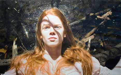 Stunning images of sensual women are actually incredible oil paintings | Strange days indeed... | Scoop.it