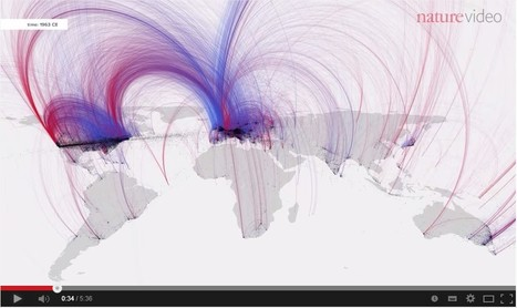 Visualiser toute l'histoire culturelle humaine - Nature.com | Digital matters | Scoop.it