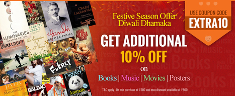 Best Diwali Offers on Books: Best Price Offers on Books & Media Pruducts - Infibeam.com | Best Deals On Books | Scoop.it