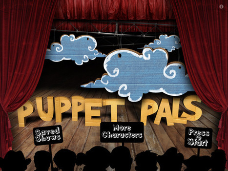 Puppet Pals HD for iPad on the iTunes App Store | iDevice Tools for Creativity | Scoop.it