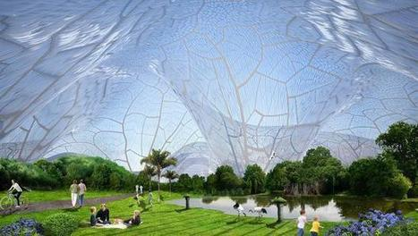 A Giant Bubble Fort To Give Polluted City Residents A Safe Place To Breathe | Un oeil sur l'air du temps | Scoop.it
