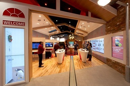« Our House » : le concept retail ultra digital de Virgin Media à Londres | La Minute Retail | Office, Retail & Design | Scoop.it