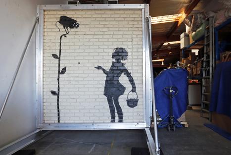 Banksy mural fetches $209K atauction | CityGraffiti | Scoop.it
