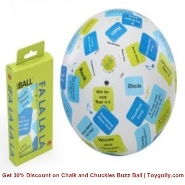Get 30% Discount on Chalk and Chuckles Buzz Ball | Toygully.com | KidsToys | Scoop.it