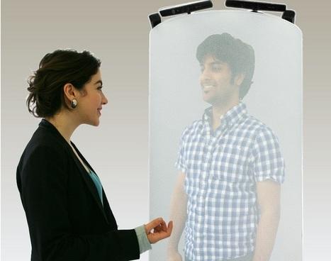 Telehuman, la vidéoconférence avec hologramme 3D grandeur nature | Geeks | Scoop.it