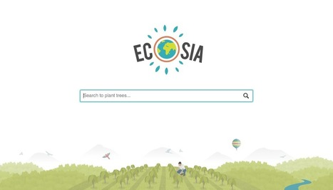 Ecosia – the search engine that plants trees! | Family friendly French Riviera | Scoop.it