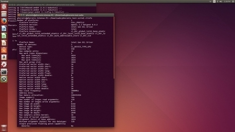 [Phoronix] Intel Beignet Is Working Out Surprisingly Well For OpenCL On Linux | opencl, opengl, webcl, webgl | Scoop.it