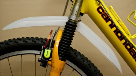 Add a Mud Guard to your Bike with a Detergent Container - Lifehacker | Real World Cycling | Scoop.it