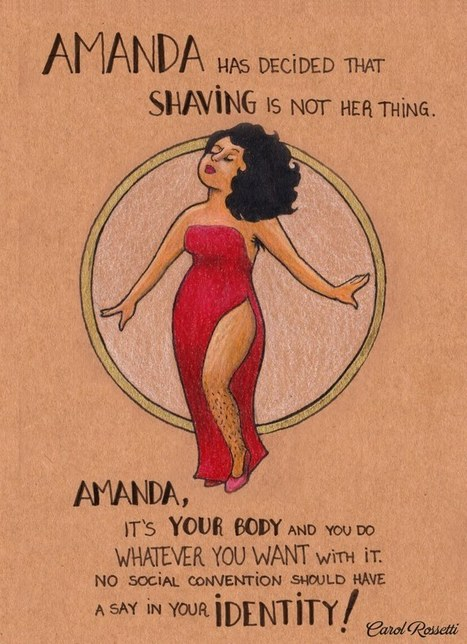 18 Empowering Illustrations to Remind Everyone Who's Really in Charge of Women's Bodies   Soup for thought   Scoop.it