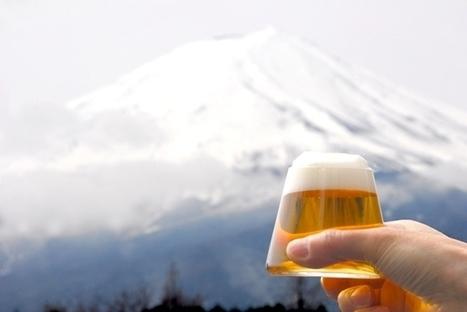 Un verre à bière qui reproduit le Mont Fuji au Japon | Food and Beverage Market | Scoop.it
