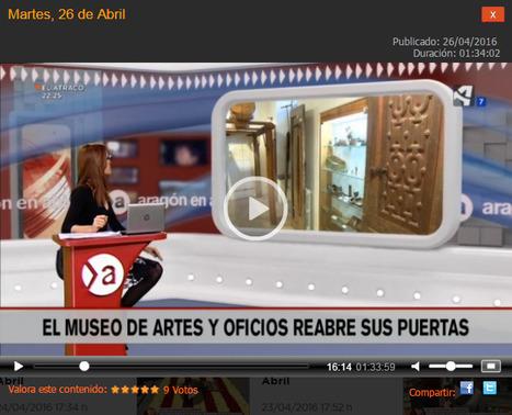 Le musée des arts et traditions populaires a réouvert ses portes à Ainsa - Aragón TV A la Carta   Vallée d'Aure - Pyrénées   Scoop.it