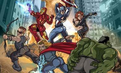 A comic look at superhero sexism | English Popular culture | Scoop.it