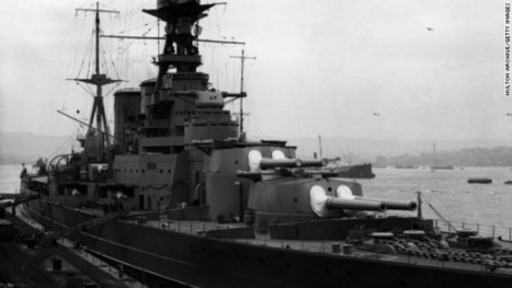 Megayacht's mission to uncover WWII battle cruiser's final moments | The Navy Campaign Daily | Scoop.it