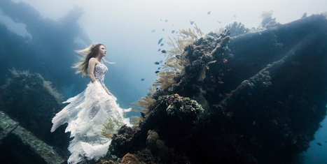 Underwater Fantasy Shoot in Bali: 7 Divers, 2 Models and 1 Underwater Shipwreck | All about water, the oceans, environmental issues | Scoop.it