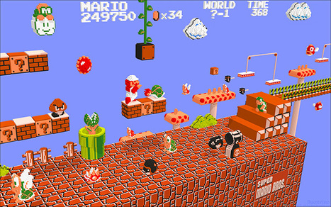 NES Games Rendered in 3D: from Pixel to Voxel | All Geeks | Scoop.it