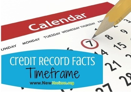 A Timeline of Credit Record Facts | Financial, Personal Guide | Scoop.it