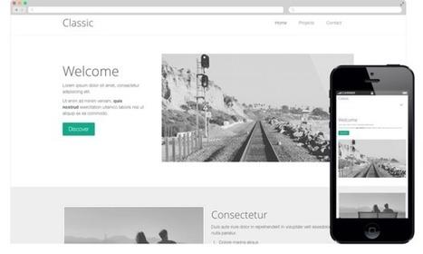 Responsive designs website builder | Web Design | Scoop.it
