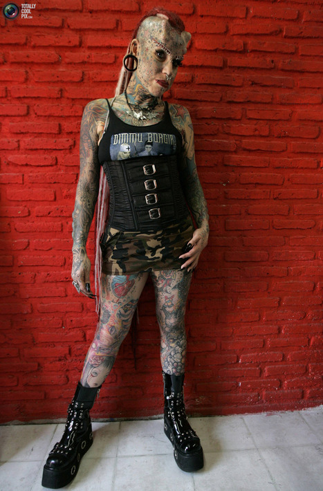 Maria Jose Cristerna is Vampire Woman >> TotallyCoolPix | Xposed | Scoop.it