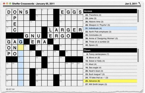 English Learning Looks Like a Crossword Solution | My Lovely English | Scoop.it