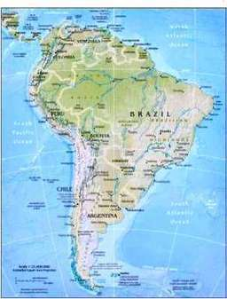 Geography for Kids: South America - flags, maps, industries, culture of South America | Europe and south America | Scoop.it