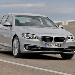 BMW launches 2014 5-Series, priced at Rs. 46,90,000 - Gaadi.com | Mahindra Cars India | Scoop.it