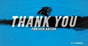 Tweet from @Panthers | CLOVER ENTERPRISES ''THE ENTERTAINMENT OF CHOICE'' | Scoop.it