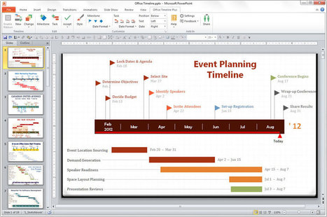 Create Professional Timelines in PowerPoint with Just a Few Clicks!  Free Add-in. | digitalcuration | Scoop.it