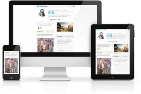 Create free interactive timelines | Hstry | Social Studies | Scoop.it
