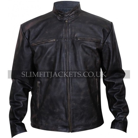 Vic Mackey The Shield Michael Chiklis Distressed Jacket | Leather Jackets | Scoop.it