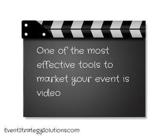 How To Use Video Marketing To Fill Your Event | Event MKT | Scoop.it