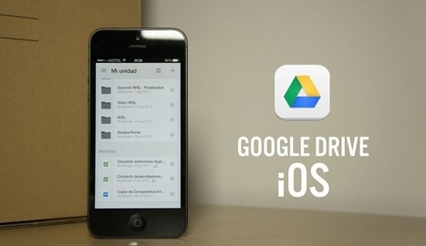 Google Drive para iOS se actualiza con soporte multicuenta   iPad classroom   Scoop.it