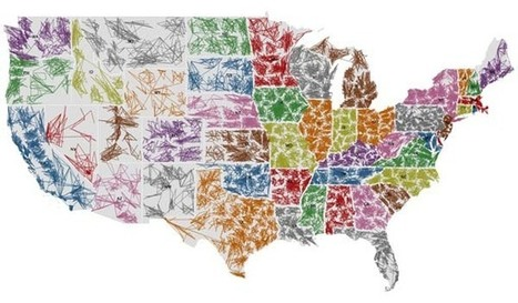 The US ZIPScribble Map | Map@Print | Scoop.it