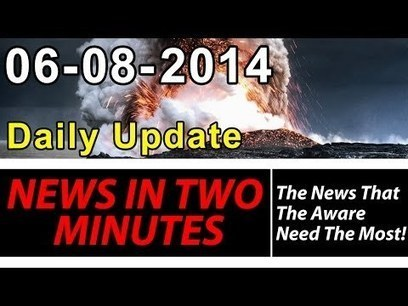 News In Two Minutes - Lava Rupture - US Warships - Flash Flooding - Fukushima - Ebola | Reality Bytes | Scoop.it