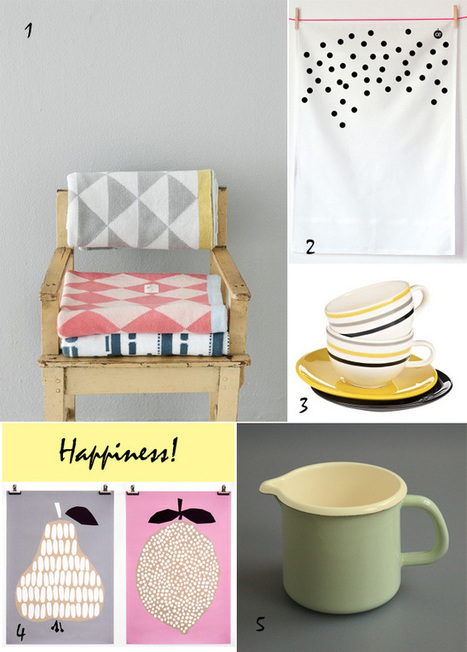 5 Happy Inspirations: Happiness! | Interior Design & Decoration | Scoop.it