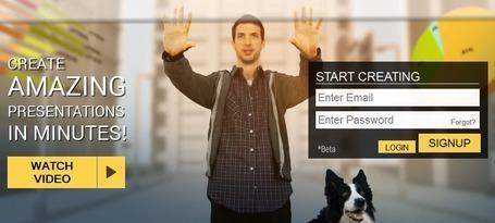 emaze - Amazing Presentations in Minutes   Listado de herramientas de autor y aplicaciones web gratuitas   Scoop.it