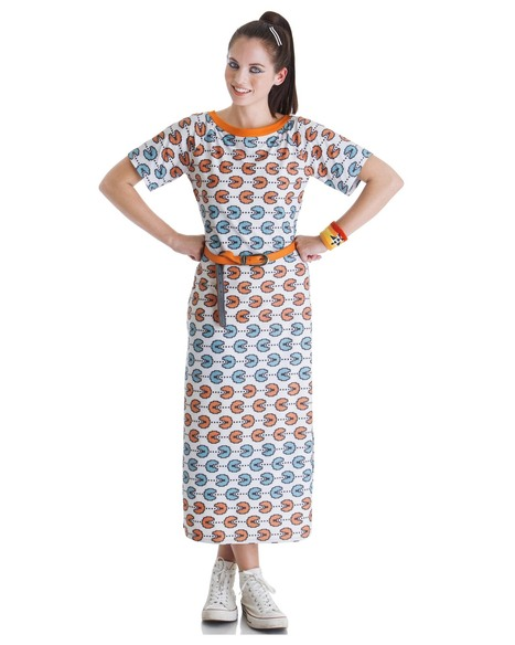 Go multi-hued with the 'pacman pretty' dress at Stylista   Stylista   Scoop.it