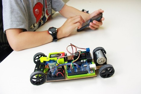 MakerClub Receives £80,000 from UK Government to Integrate Expertise in 3D Robotics into School Curriculum | Computer Science in Middle and High Schools | Scoop.it