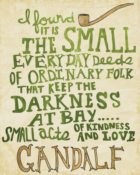 Gandalf The Grey | ponder this | Scoop.it