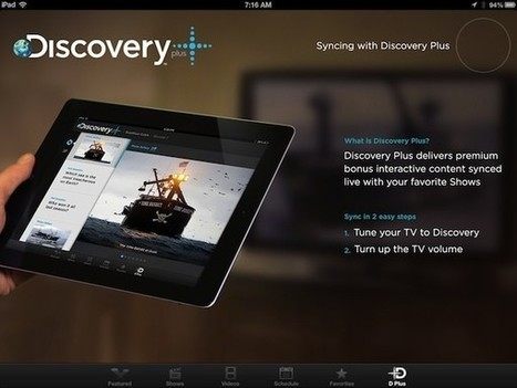Discovery, TLC apps for iPad add 'Plus' second screen experience   second screen   Scoop.it