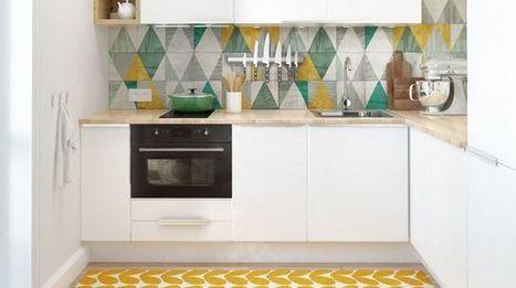 Déco : mettre de la couleur dans sa cuisine - CôtéMaison.fr | Fashion-Art, Beauté & Déco | Scoop.it