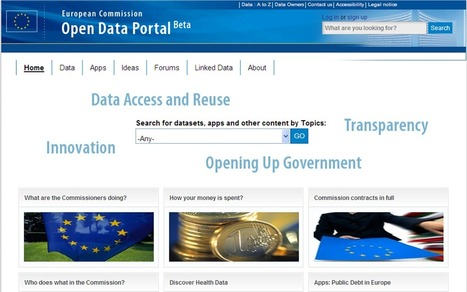 Neelie Kroes blog - Unlocking the goldmine: new legal proposals to open up Europe's public sector - European Commission | Data Visualization & Open data | Scoop.it